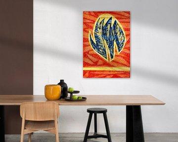 Die Kraft einer Tulpe von Godelieve Kunst