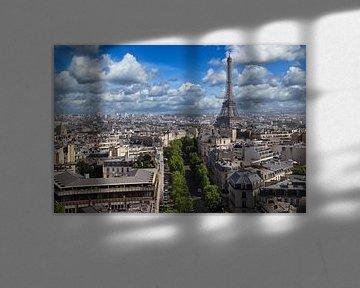 Eiffelturm in Paris von Jan Kranendonk