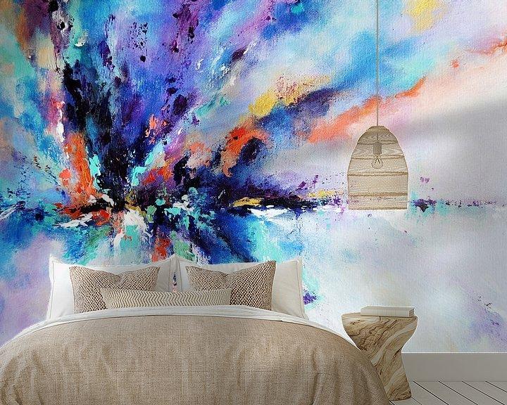 Beispiel fototapete: Rainbow Reflection von Maria Kitano
