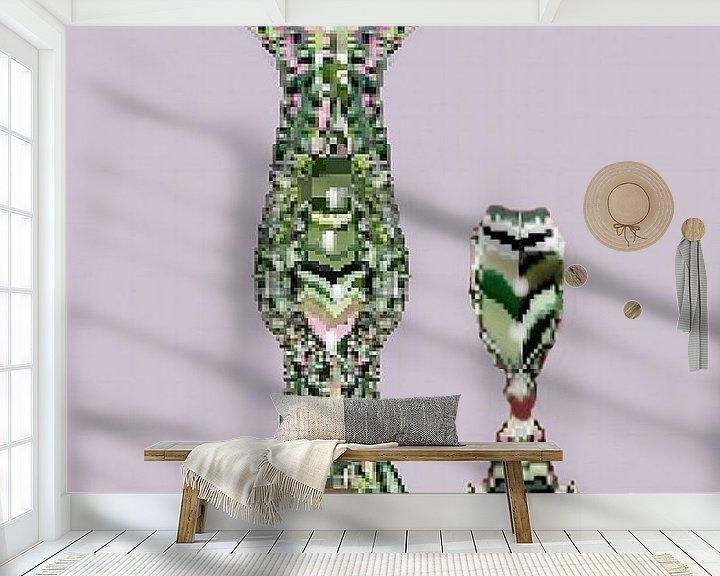 Beispiel fototapete: Crystal Decanters von Annaluiza Dovinos