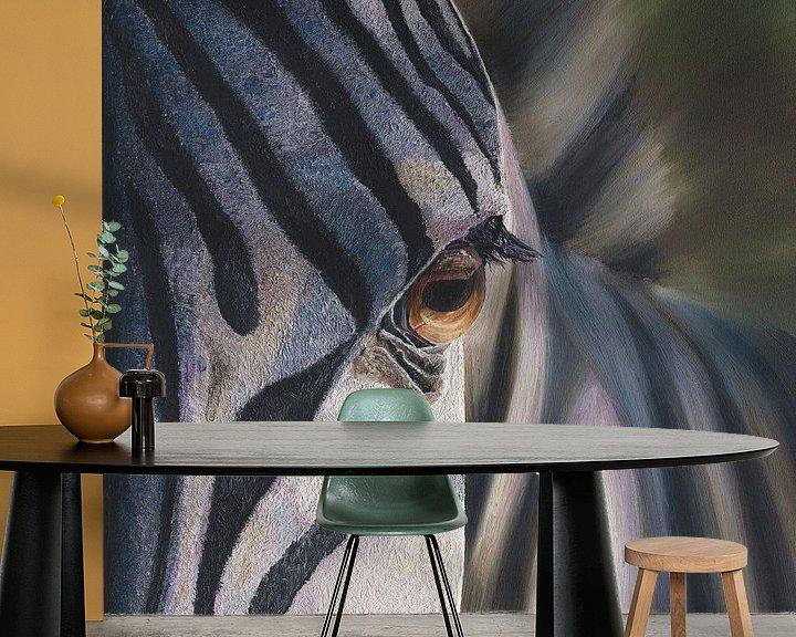 Beispiel fototapete: Zebra von Russell Hinckley