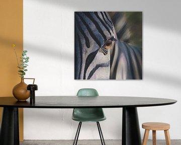 Zebra von Russell Hinckley