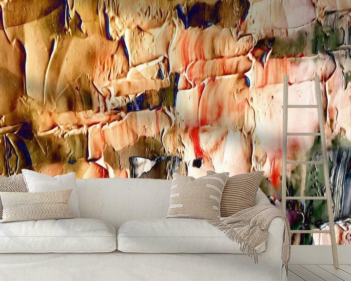 Beispiel fototapete: Abstrakt in irdischen Farben von Maurice Dawson