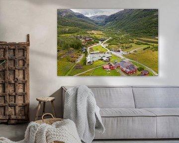 Photographie d'Arial Norvège sur Jeroen Kleiberg