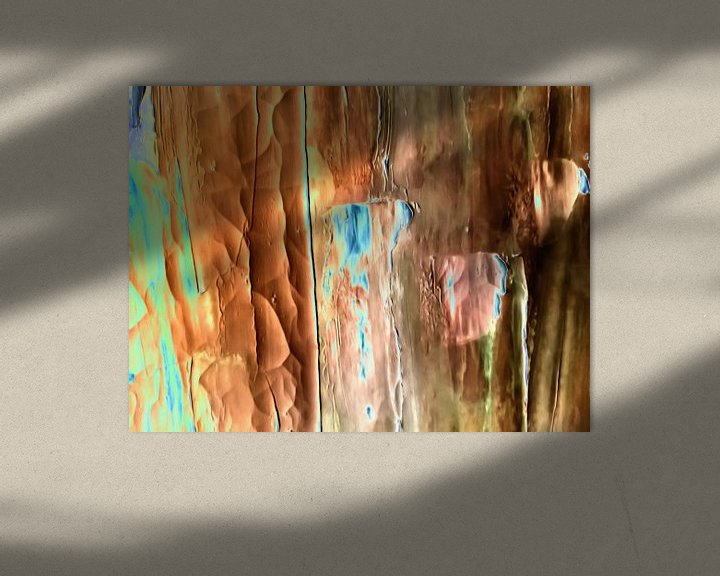 Beispiel: Abstrakte Zusammensetzung von Maurice Dawson