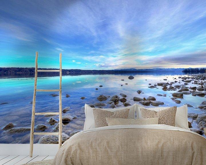 Beispiel fototapete: Steine am Starnberger See von Roith Fotografie