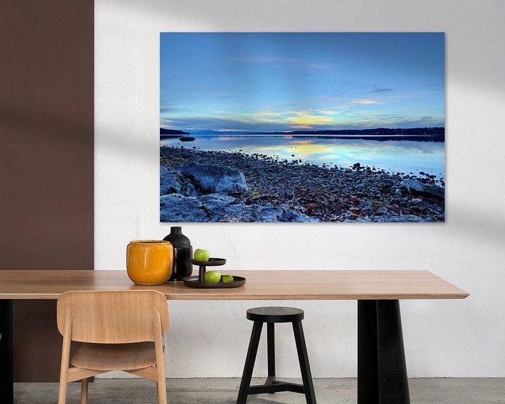 Beispiel: Blaue Stunde am Starnberger See von Roith Fotografie