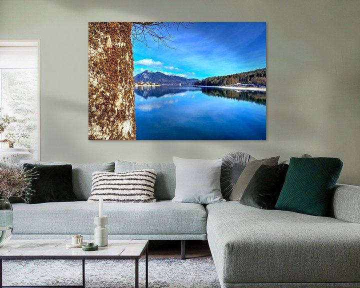 Beispiel: Alpenglück am Walchensee von Roith Fotografie