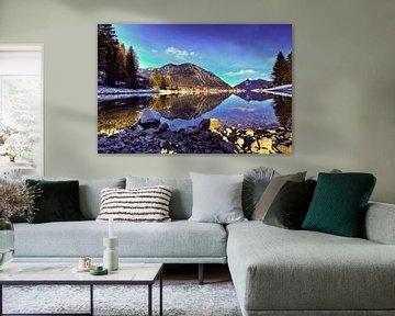 Bergpanorama Walchensee von Roith Fotografie