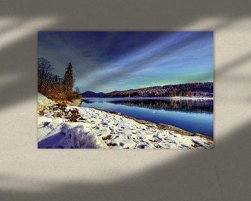 Wintery Upper Bavaria au Walchensee sur Roith Fotografie