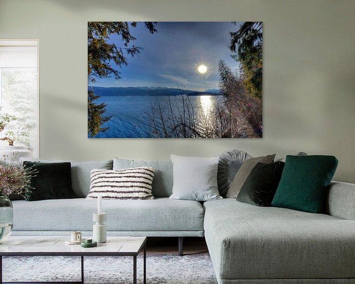 Beispiel: Aus dem Wald auf den Walchensee von Roith Fotografie