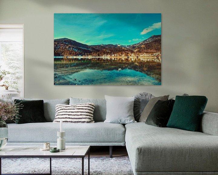 Beispiel: Walchensee anders interpretiert von Roith Fotografie