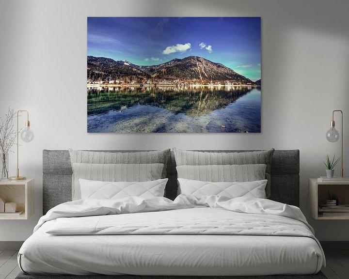 Beispiel: Bergpanorama am Walchensee von Roith Fotografie