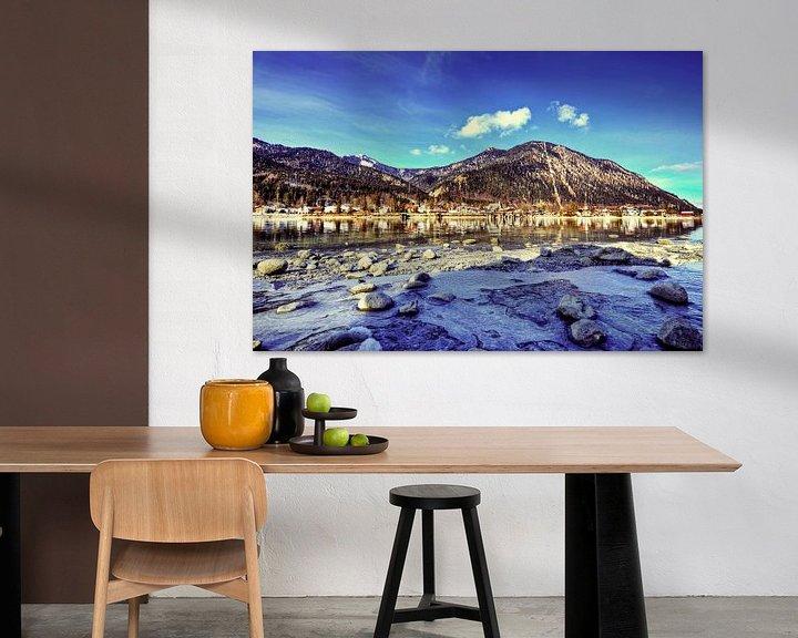 Beispiel: Gefrorenes Ufer Walchensee von Roith Fotografie