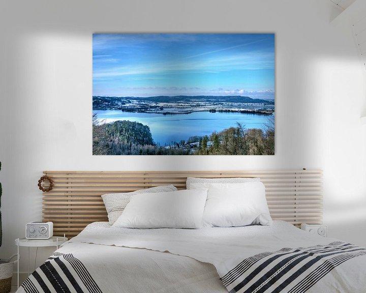 Beispiel: Panoramablick über den Walchensee von Roith Fotografie