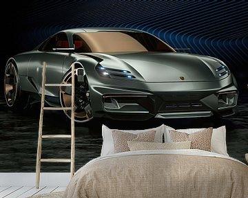 Porsche Cyber 6, Sportwagen. Konzeptfahrzeug von Gert Hilbink