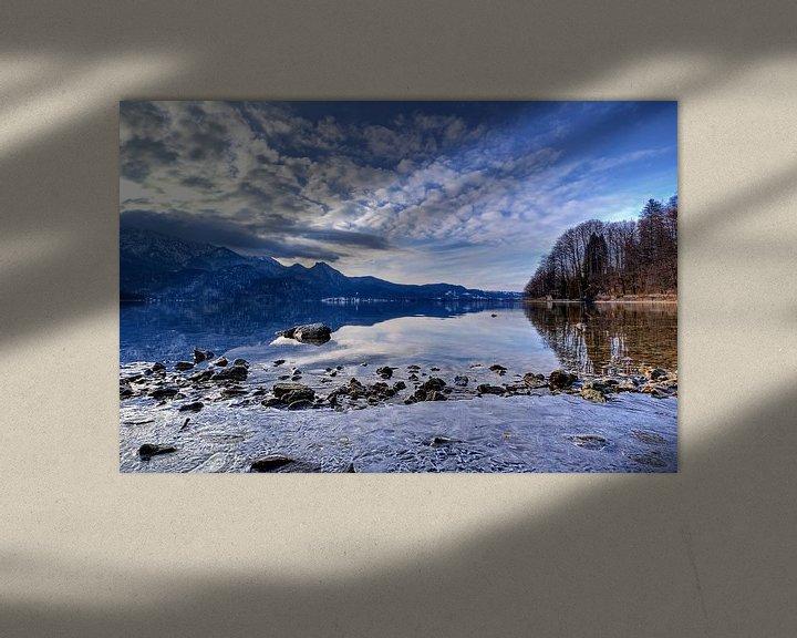 Beispiel: Eiszeit am Kochelsee von Roith Fotografie