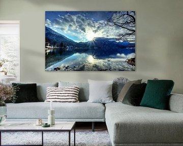 Blaue Stunde am Walchensee von Roith Fotografie