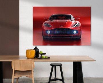 Aston Martin Vanquish Zagato, Britse sportauto van Gert Hilbink