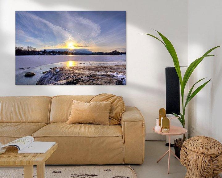 Beispiel: Uferpromenade im Sonnenuntergang am Staffelsee von Roith Fotografie