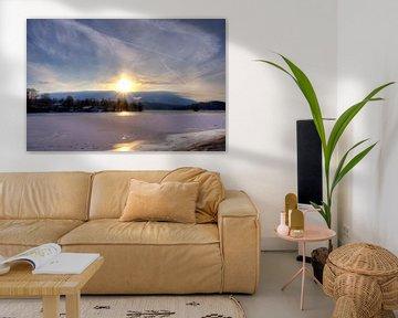 In Front zur Sonne am Staffelsee von Roith Fotografie