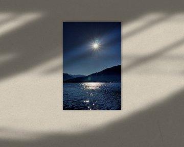 Sonnenstern über dem Tegernsee von Roith Fotografie