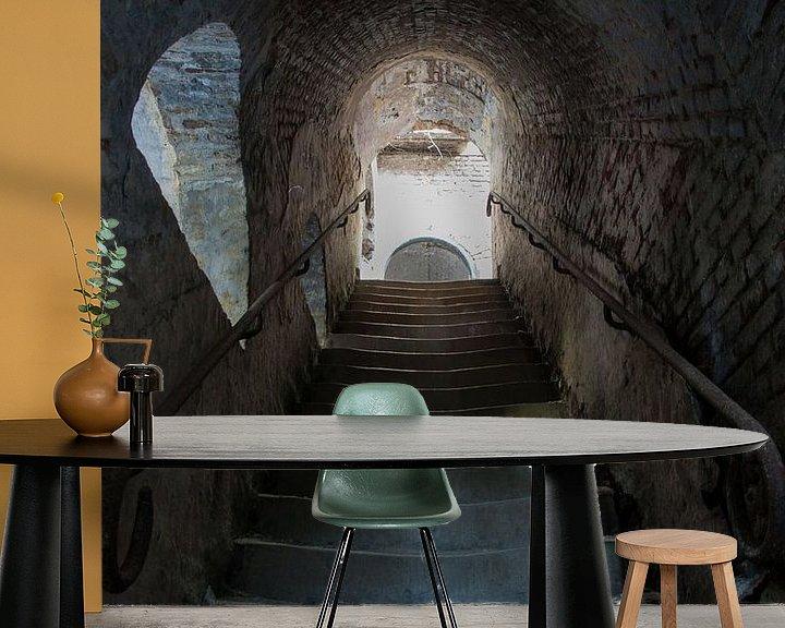 Beispiel fototapete: Stairway von Ooks Doggenaar