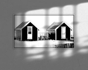 Kleine Hütten 1 von Kirsten Warner