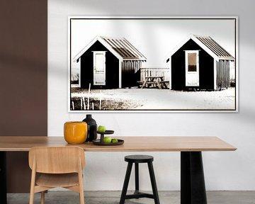 Kleine huisjes 3 van Kirsten Warner