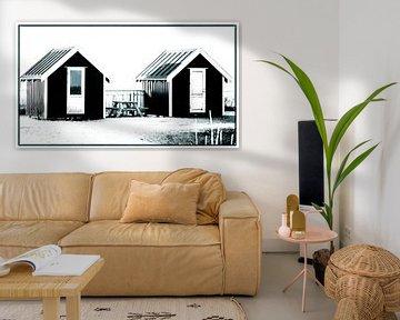Kleine Hütten 4 von Kirsten Warner