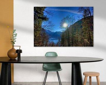 Sonnenstern am Königssee von Roith Fotografie