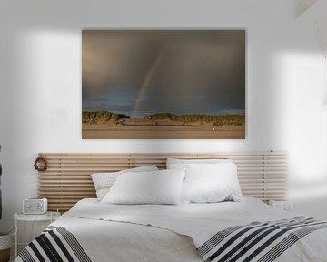 Regenboog duinen Ameland van Nicole Nagtegaal