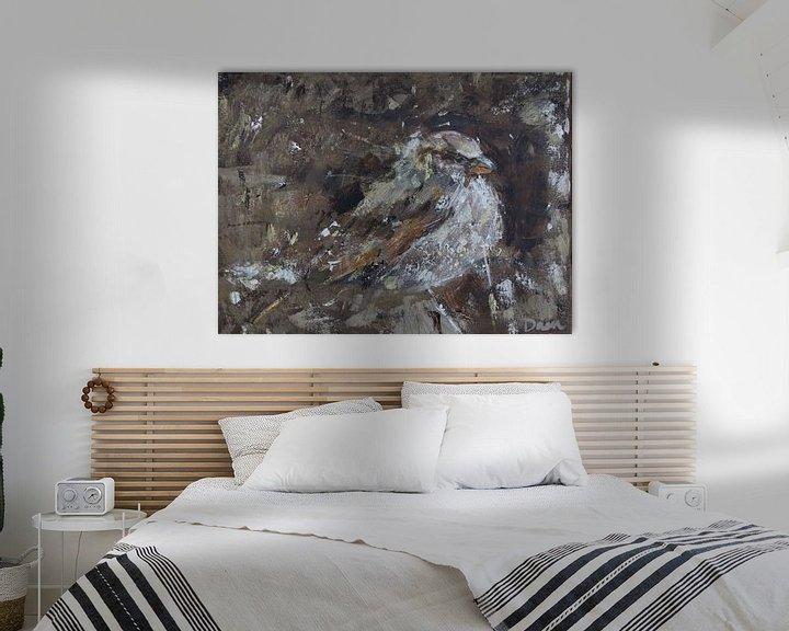 Beispiel: Vogel, Haussperling von Mieke Daenen