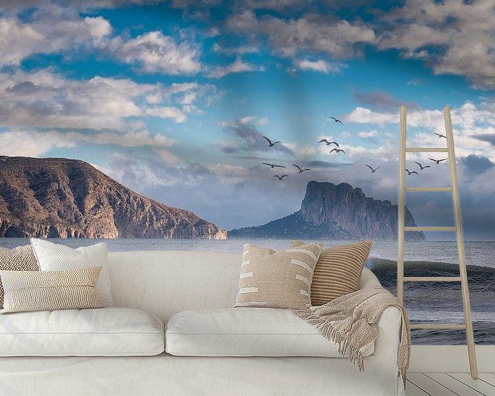 Sfeerimpressie behang: Altea aan de Costa Blanca van Jellie van Althuis