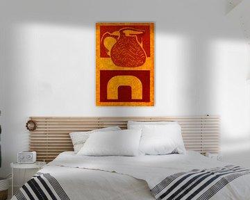 Ein warmes Zuhause von Godelieve Kunst