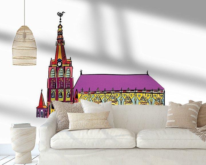 Beispiel fototapete: St. Johannes-Kathedrale von Teun Poppelaars