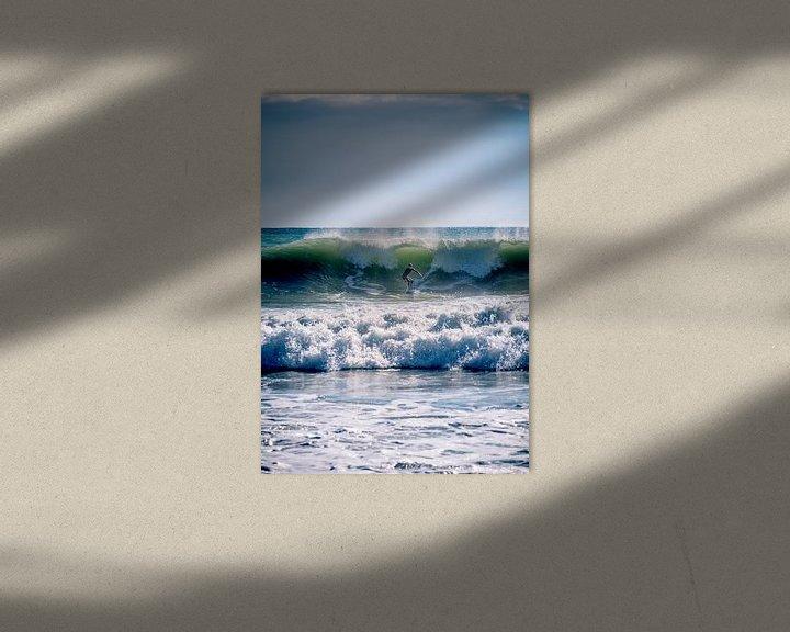 Sfeerimpressie: Wave surfing van Jellie van Althuis