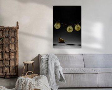 Trocknen von Zitronen von Diana Bodnarenco