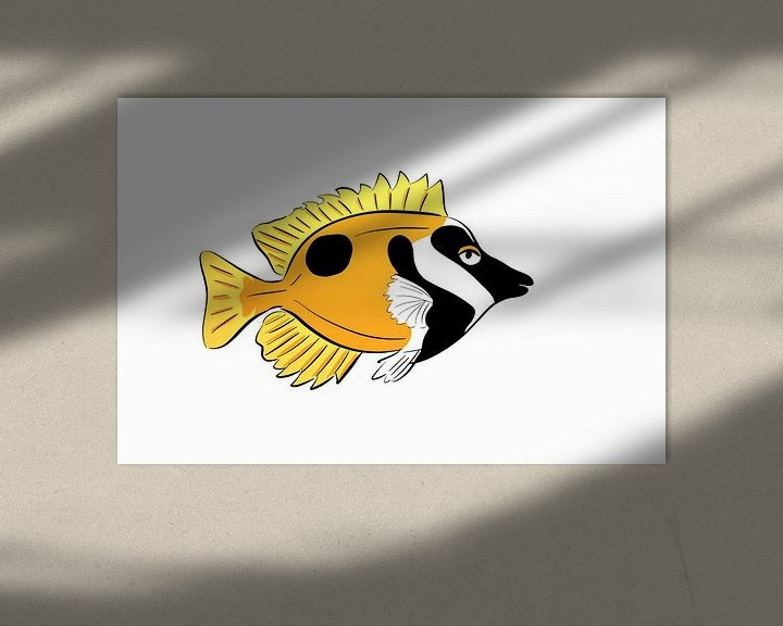 Beispiel: Fuchskopf-Fisch Lustig von Teun Poppelaars