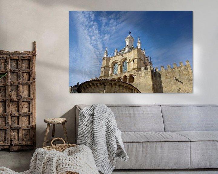 Sfeerimpressie: Coimbra: de oude kathedraal Sé Velha van Berthold Werner