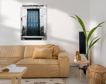 Plaka-Old Window-3 von Pia Schneider