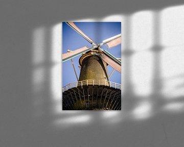 Mühle in Schiedam von Suzan van Pelt
