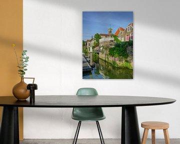 Ansicht von Dordrecht von Dirk van Egmond