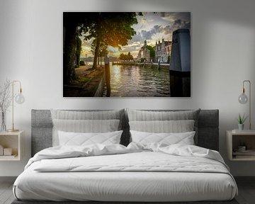 Groothoofd in Dordrecht von Dirk van Egmond