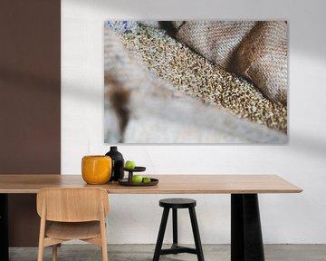Graan in jutte molenaars zak van Fotografiecor .nl