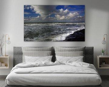 Zeeuwse Rivièra van MSP Canvas