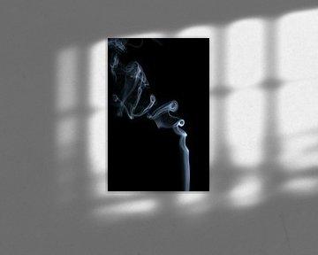Up in smoke Schwarz und weiß von Karin de Boer Photography