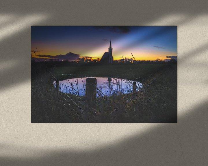 Sfeerimpressie: Kerkje van Texel van Fotografiecor .nl