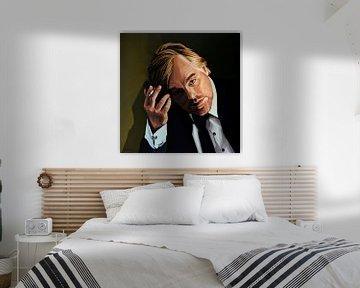 Philip Seymour Hoffman Gemälde von Paul Meijering