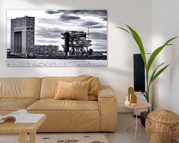 Pontsteiger und die REM-Insel in Amsterdam von Studio de Waay